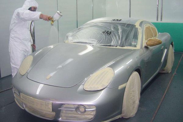 Покраска и полировка автомобиля